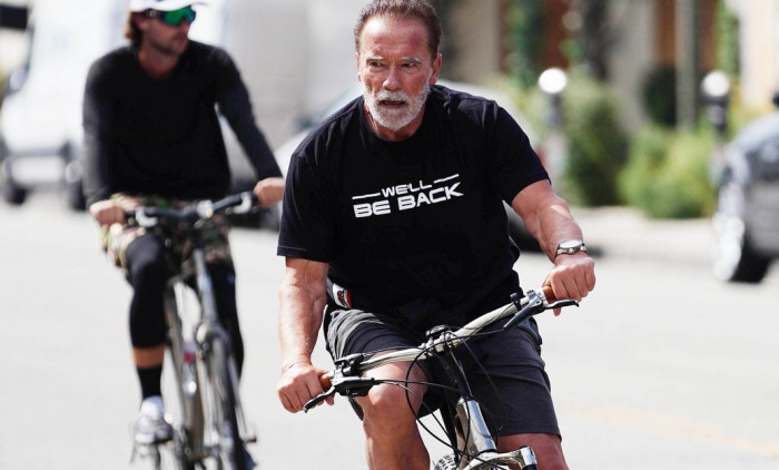 Arnold Schwarzenegger Sighting - Los Angeles