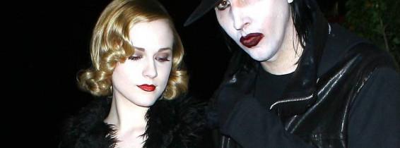 Marilyn Manson and Evan Rachel Wood