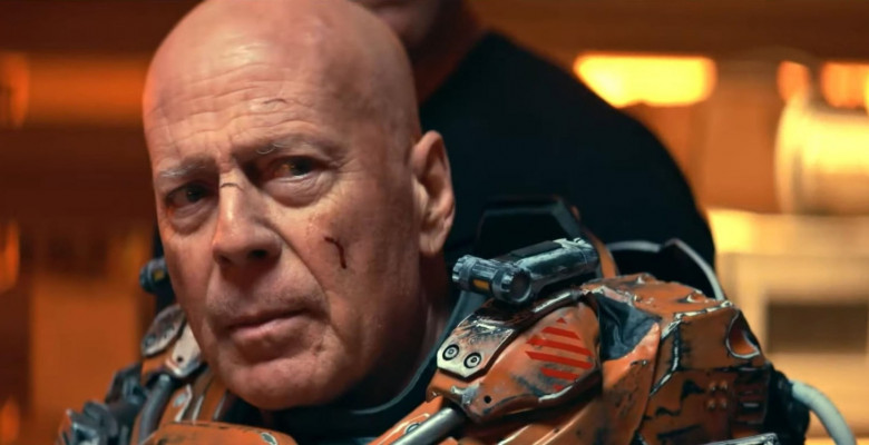 First look at Bruce Willis battling space terrors in new trailer for his latest movie Cosmic Sin