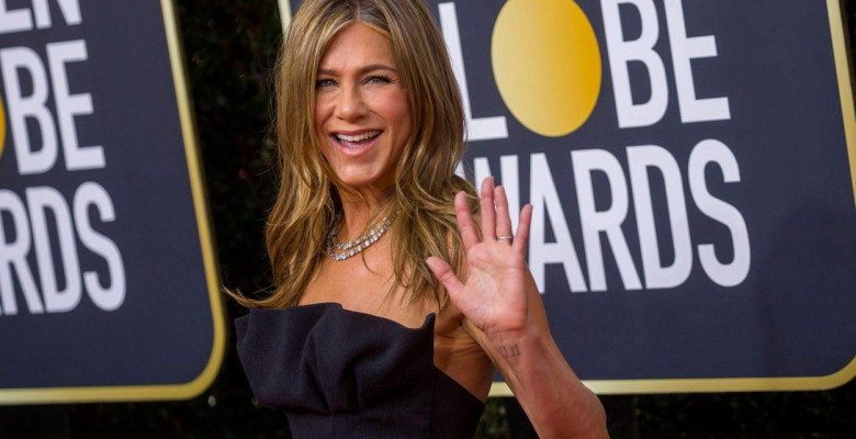 Beverly Hills, Los Angeles, USA. 05th Jan, 2020. Jennifer Aniston attends the 77th Annual Golden Globe Awards, Golden Globes, at Hotel Beverly Hilton in Beverly Hills, Los Angeles, USA, on 05 January 2020. | usage worldwide Credit: dpa picture alliance/Al