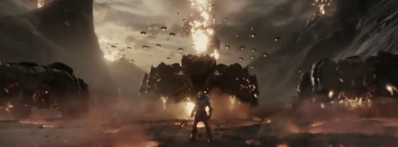 Darkseid looms over Wonder Woman in the first clip from Zack Snyder's Justice League