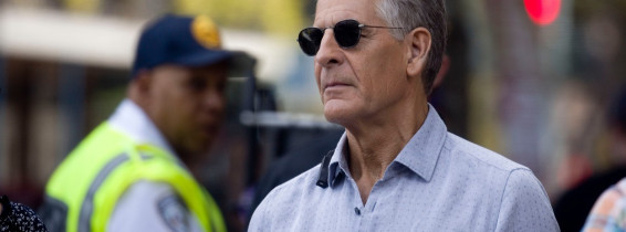 EXCLUSIVE: Agent Scott Bakula on the set of NCIS: New Orleans