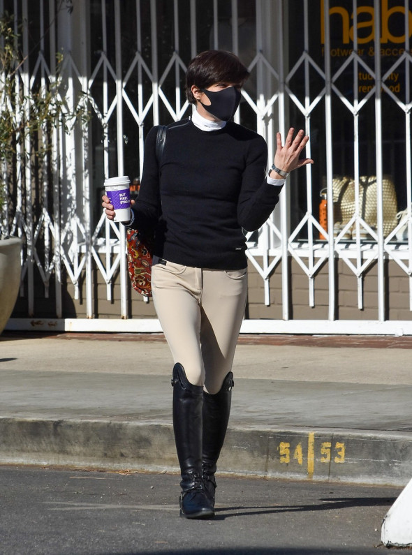 Selma Blair Out And About