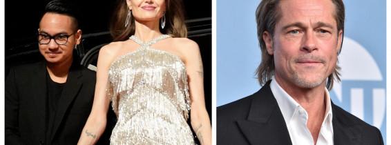 Maddox, Angelina Jolie, Brad Pitt