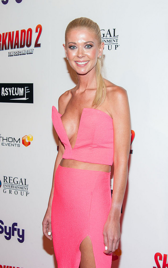 "Premiere Of The Asylum & Fathom Events' ""Sharknado 2: The Second One"" - Arrivals"