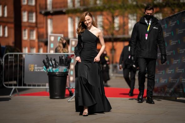 74th British Academy Film Awards, Arrivals, Royal Albert Hall, London, UK - 11 Apr 2021