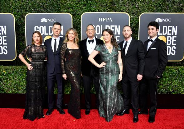 familia lui Tom Hanks
