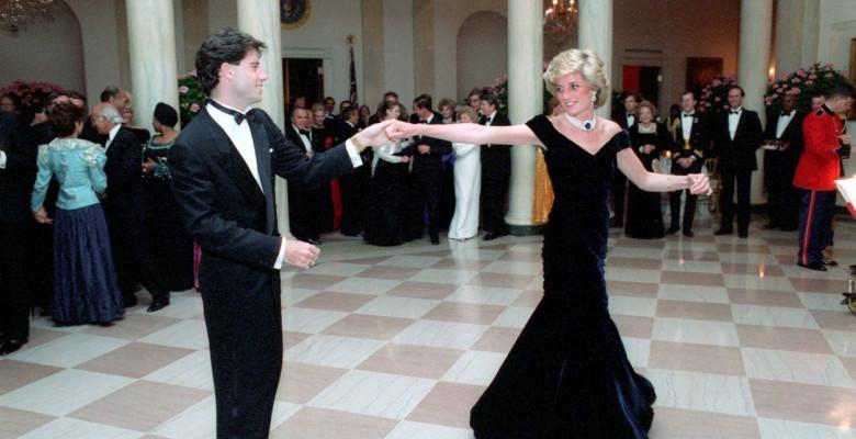 John Travolta şi Prinţesa Diana
