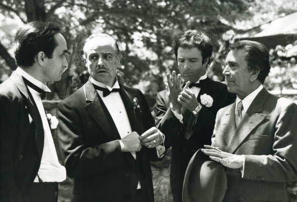 """""""The Godfather"""" (1972) Paramount"""