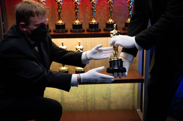 93rd Annual Academy Awards, Backstage, Los Angeles, USA - 25 Apr 2021