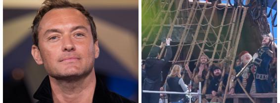 Jude Law, Captain Hook