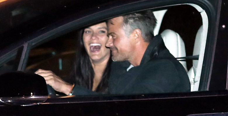 Josh Duhamel And Audra Mari Are Joined By Friends On Date Night