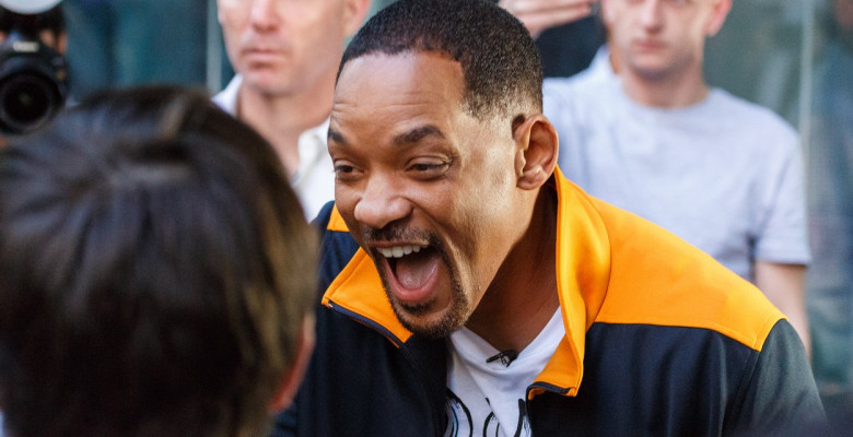 Will Smith - The Fresh Prince of Sydney Mobbed by Fans in City