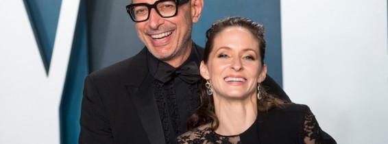 Jeff Goldblum și Emilie Livingston