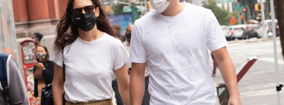 Katie Holmes and Emilio Vitolo Jr. Sighting in NYC