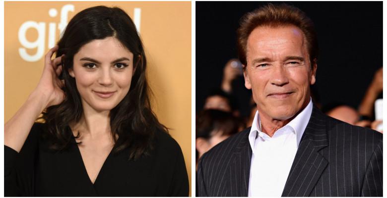 Arnold Schwarzenegger, Monica Barbaro