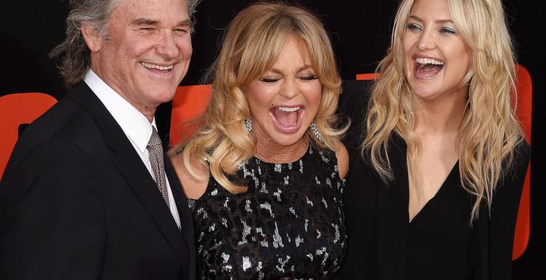Kurt Russell, Goldie Hawn și Kate Hudson