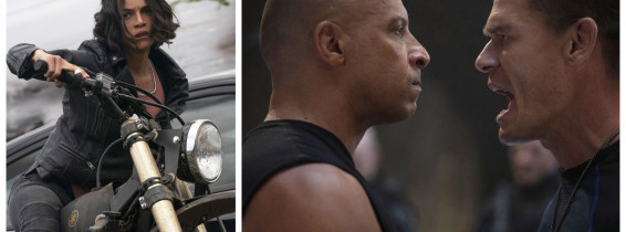 Vin Diesel, Michelle Rodriguez, John Cena