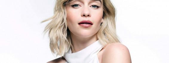 BT - Emilia Clarke pose pour la campagne de cosmétiques Clinique