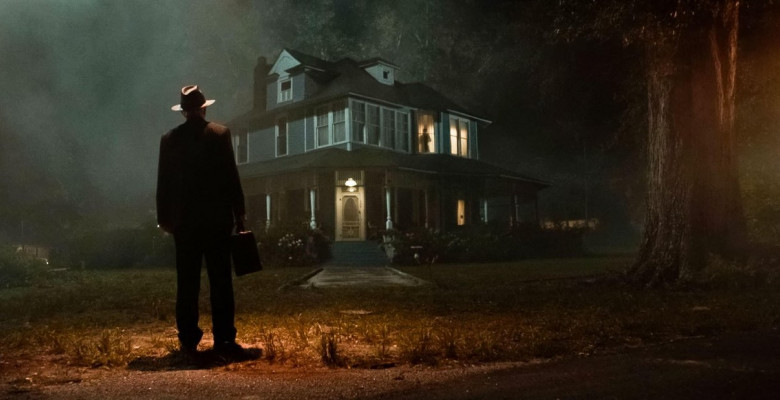 USA. A scene from the (C)Warner Bros. new movie: The Conjuring 3: The Devil Made Me Do It (2021) . Plot: One of the most sensational cases from the files of real life paranormal investigators Ed and Lorraine Warren, where a young boy is murdered and the