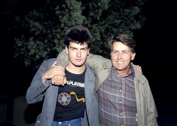 Charlie Sheen și Martin Sheen