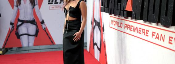 """Marvel Studios' """"Black Widow"""" World Premier Fan Event In London"""