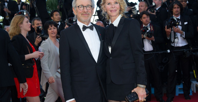 Steven Spielberg și Kate Capshaw