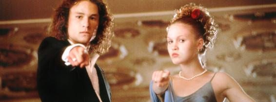 Julia Stiles și Heath Ledger