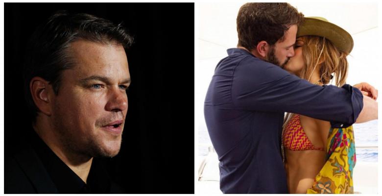 Matt Damon, noi declarații despre cuplul Bennifer