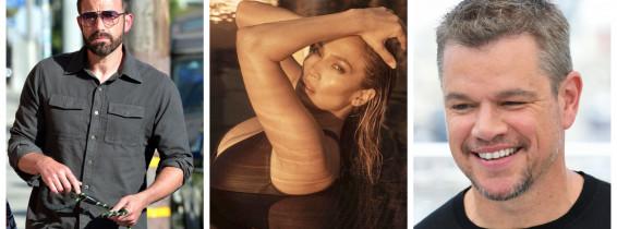 Ben Affleck, Jennifer Lopez, Matt Damon