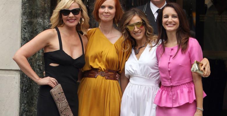 Kim Catrall, Sarah Jessica Parker, Cynthia Nixon, Kristin Davis