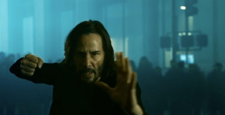 the matrix ressurections, keanu reeves