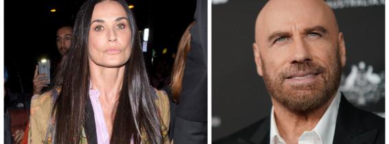 Demi Moore și John Travolta ar fi cel mai nou cuplu de la Hollywood