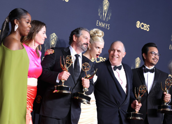 73rd Annual Emmy Awards taking place at LA Live, La Live, Los Angeles, California, United States - 19 Sep 2021