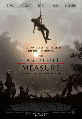 The Last Full Measure (2019) directed by Todd Robinson and starring Samuel L. Jackson, Sebastian Stan, William Hurt, Christopher Plummer and Ed Harris. True story of William H. Pitsenbarger a United States Air Force Pararescueman who flew on almost 300 re