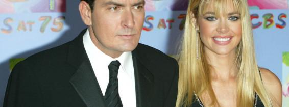Charlie Sheen și Denise Richards