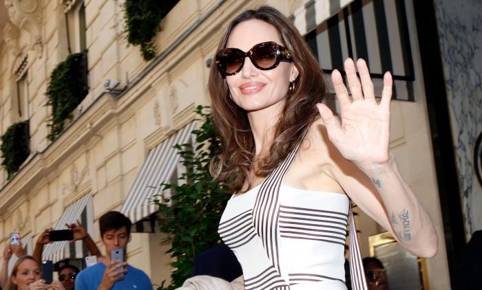 Angelina Jolie In Paris, France - 09 Jul 2019