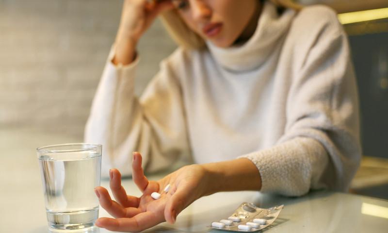 femeie migrena