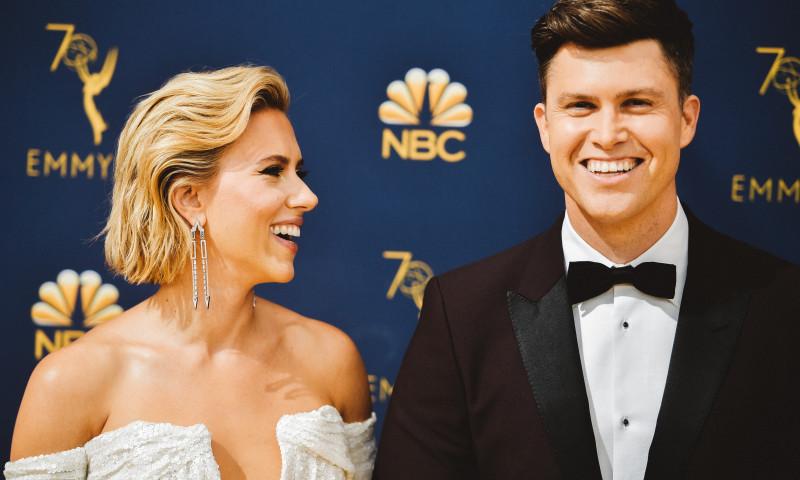 Scarlett Johansson Colin Jost logodna