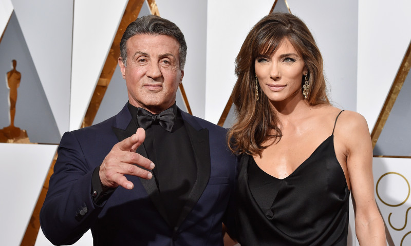 Sylvester Stallone și soția lui, Jennifer Flavin