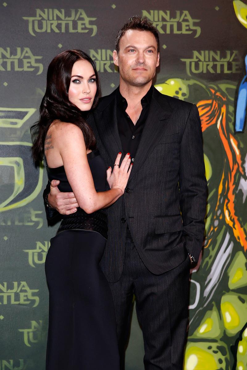 Megan Fox si Brian Austin Green