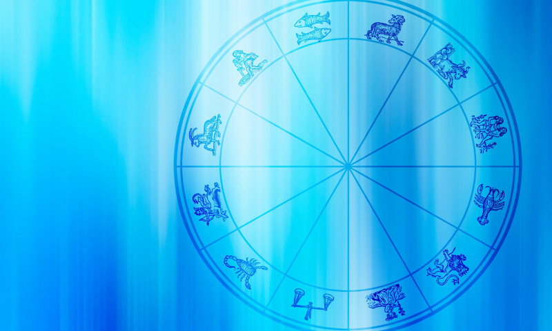 zodiac signs, astrology and horoscope concept