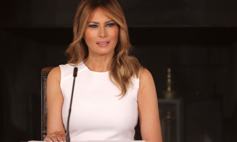 First Lady Melania Trump Hosts Roundtable Discussion