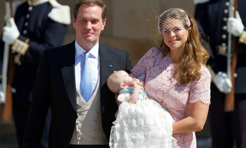 Christening of Princess Leonore at Drottningholm Palace, Drottningholm, Sweden - 08 Jun 2014