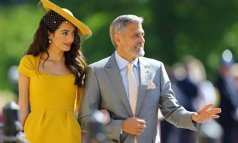 Amal Clooney și George Clooney. Foto: Getty Images