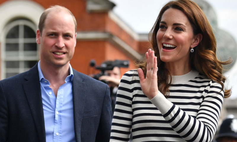 The Duke And Duchess Of Cambridge Launch King's Cup Regatta