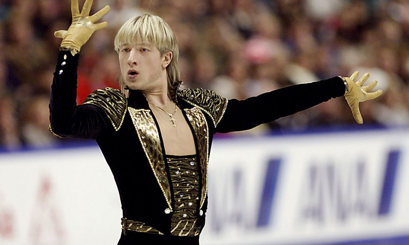 World Figure Skating Champs X Plushenko