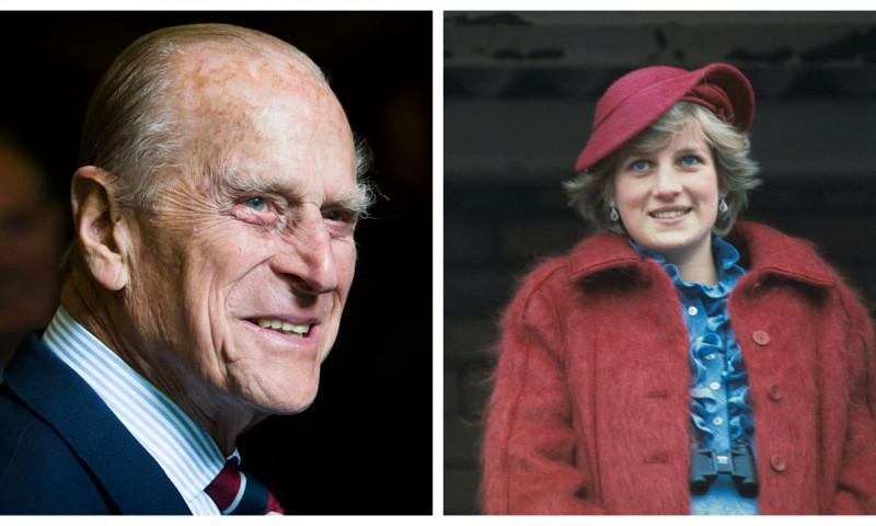 Prințul Philip și Diana