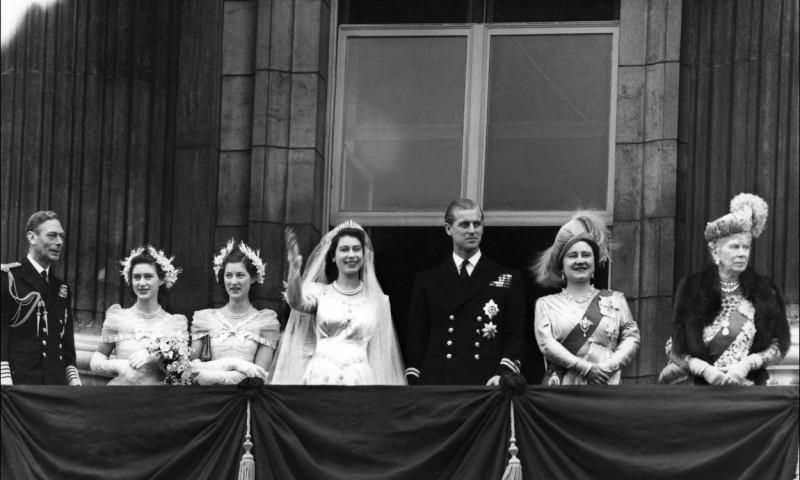 nunta regala Elisabeta a II-a, printul Philip