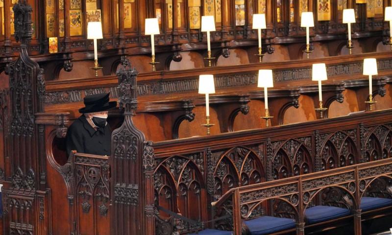 The funeral of Prince Philip, Duke of Edinburgh, Windsor Castle, Berkshire, UK - 17 Apr 2021